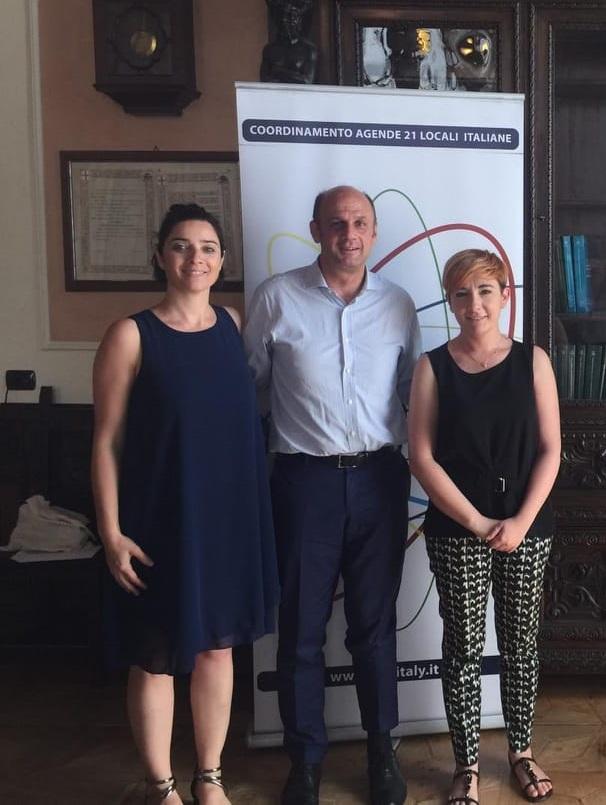 da sinistra_Adriana Nepote (presidente uscente), presidente Arturo Lorenzoni, Miriam Cominelli (vicepresidente)